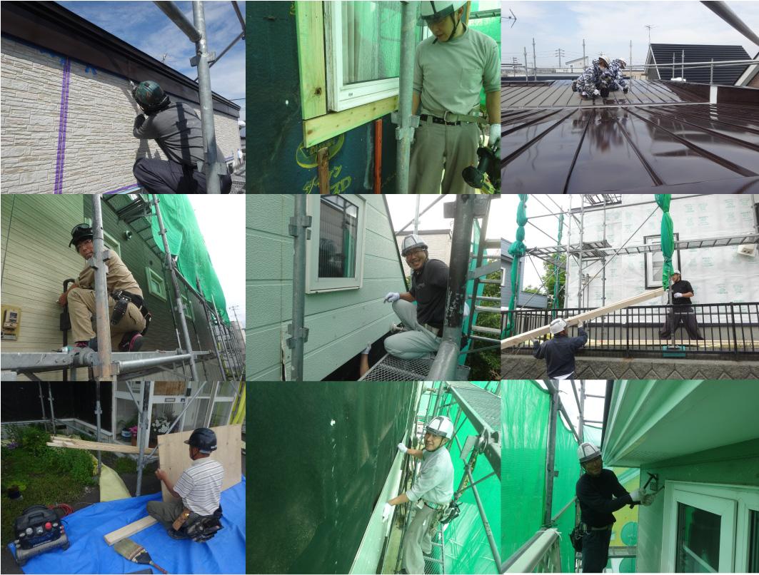 藤井建業の職人
